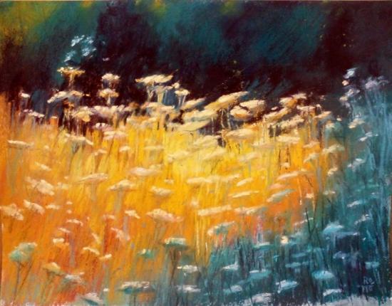 champs fleuris